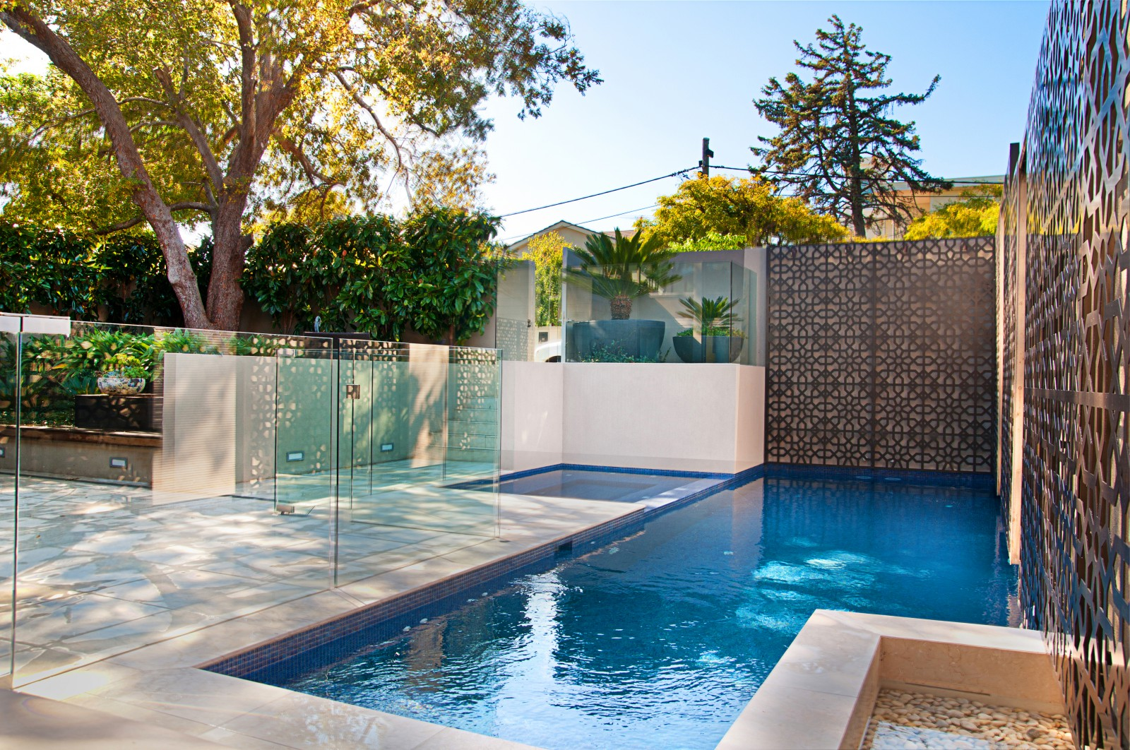 In Channel Pool Fencing Geographe Glass Co